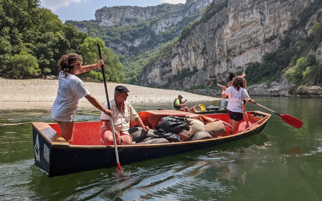 Journée nettoyage de l'Ardèche